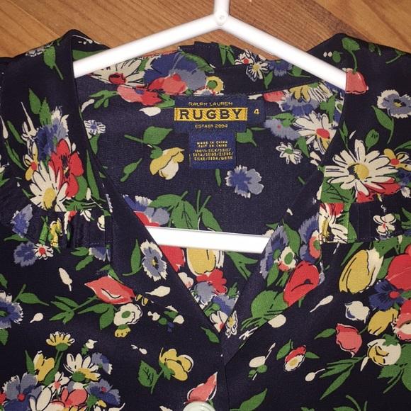 Rugby Ralph Lauren Dresses & Skirts - 100% silk Super flattering sundress/casual dress